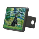 Flat Coated Retriever 2 Rectangular Hitch Cover