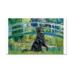 Flat Coated Retriever 2 Rectangle Car Magnet