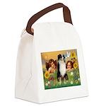 Cherubs / Aussie (tri) Canvas Lunch Bag