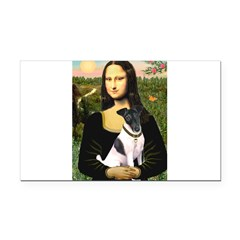 Mona's Smooth Fox Terrier (Bl Rectangle Car Magnet
