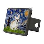 Starry / Fr Bulldog (f) Rectangular Hitch Cover