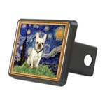 Starry/French Bulldog Rectangular Hitch Cover