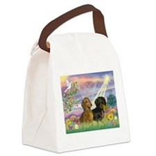 Cloud Angel Doxies Canvas Lunch Bag