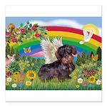 Rainbow Bright / Dachshund (w Square Car Magnet 3&