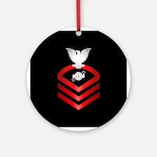 Navy Chief Boiler Technician Ornament (Round)