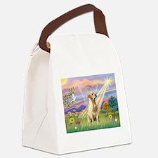 Cloud Angel / Lab (y) Canvas Lunch Bag
