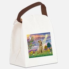 Cloud Angel / Lakeland Terrie Canvas Lunch Bag