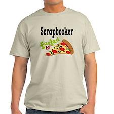 Scrapbooker Funny Pizza T-Shirt