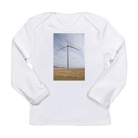 Wind Turbine Long Sleeve Infant T-Shirt