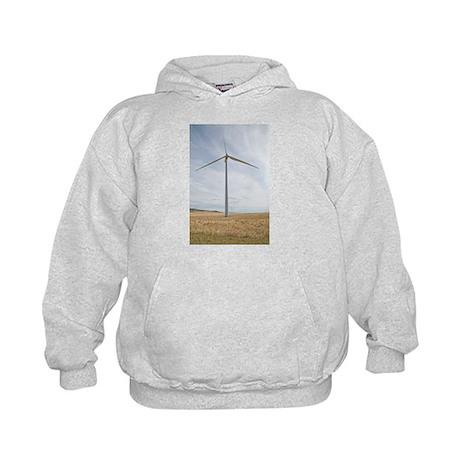 Wind Turbine Kids Hoodie