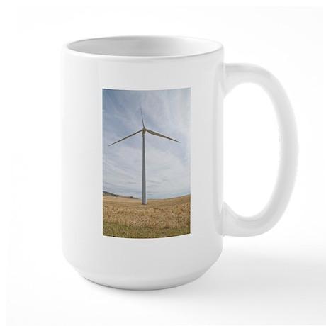 Wind Turbine Large Mug