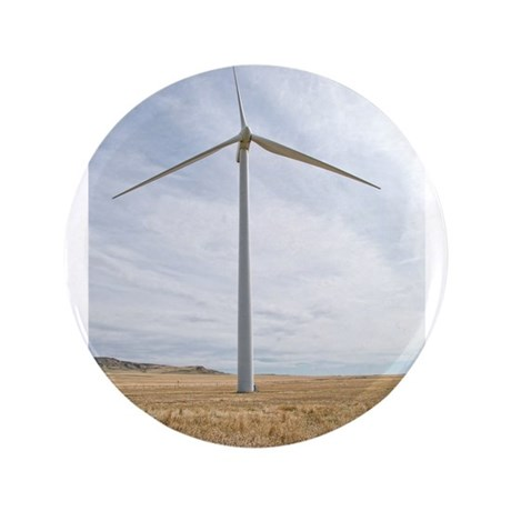 "Wind Turbine 3.5"" Button"