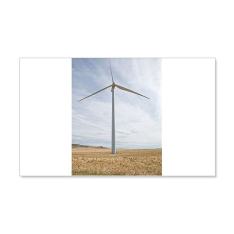 Wind Turbine 20x12 Wall Decal