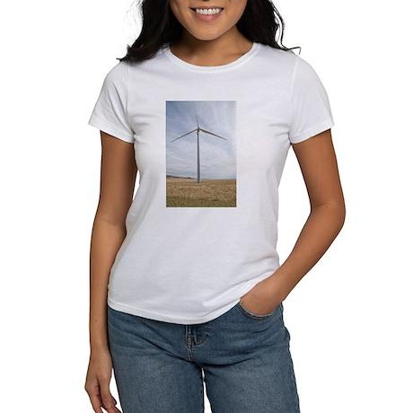 Wind Turbine Women's T-Shirt
