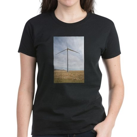 Wind Turbine Women's Dark T-Shirt