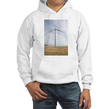 Wind Turbine Hooded Sweatshirt