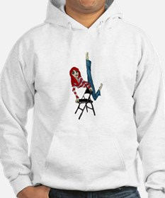 not just for sitting Hoodie