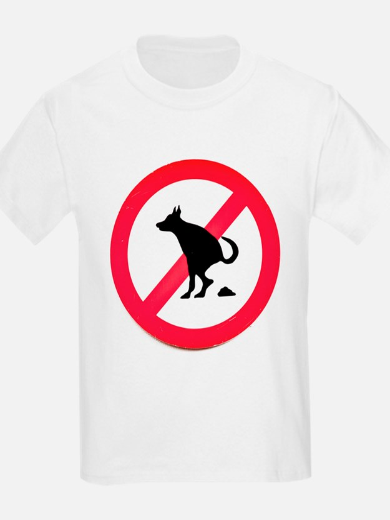 No pooping T-Shirt