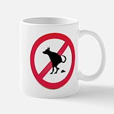 No pooping Mug