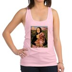 Mona's Golden Retriever Racerback Tank Top