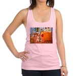 Room / Golden Racerback Tank Top