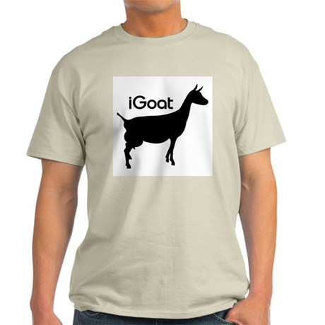 iGoat Ash Grey T-Shirt