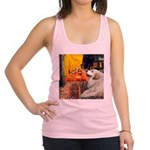 Cafe / Great Pyrenees Racerback Tank Top