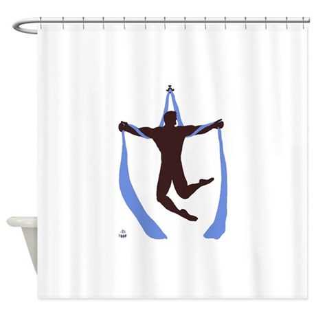 Welhung No Words Shower Curtain By ElisCircus