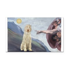 Creation / Ital Spinone Rectangle Car Magnet