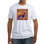 THREE HOUNDS Fitted T-Shirt