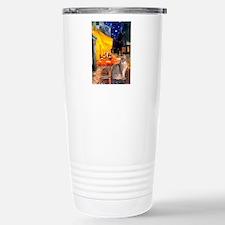 Cafe & Blue Abbysinian Travel Mug