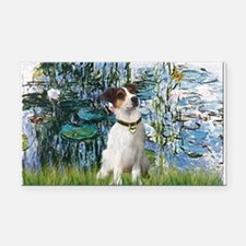 Lilies / JRT Rectangle Car Magnet