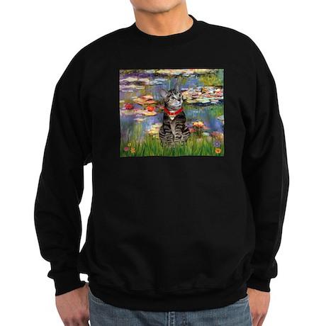 MP-Lilies2-ATabby2.png Sweatshirt (dark)