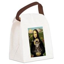 5x7b-Mona-Cat-tiger1.PNG Canvas Lunch Bag