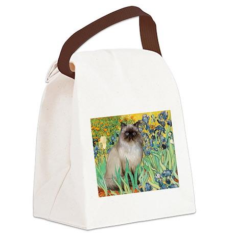 Irises / Himalayan Canvas Lunch Bag