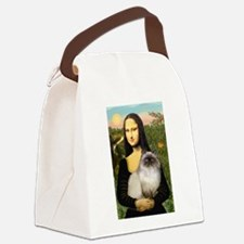 Mona's Himalayan Cat Canvas Lunch Bag