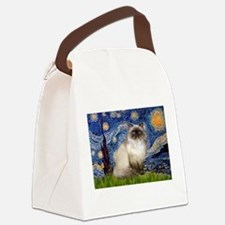 TILE-Starry-HimilayanJF.png Canvas Lunch Bag