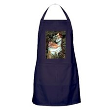 Ophelia / Maine Coon cat #11 Apron (dark)