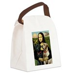 Mona / Labrador Canvas Lunch Bag