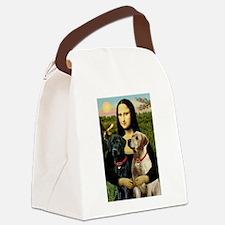Mona / Labrador Canvas Lunch Bag