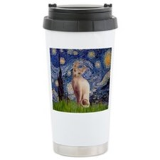 Starry Night / Sphynx Travel Mug
