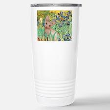 Irises / Sphynx Stainless Steel Travel Mug