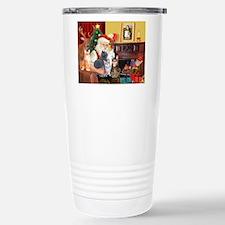 Santa's Five Cats Travel Mug