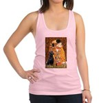 The Kiss & Black Lab Racerback Tank Top
