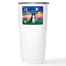 Twilight / B&W Cat Travel Mug
