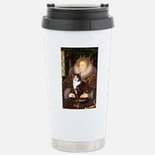 TILEQueen-CalicoSH.png Stainless Steel Travel Mug