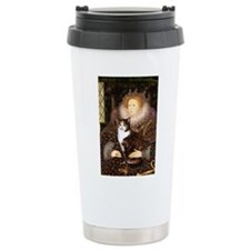 TILEQueen-CalicoSH.png Travel Coffee Mug