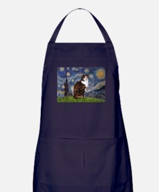 TILE-Starry-CalicoSH.png Apron (dark)