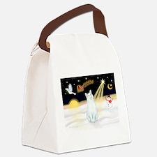 Unique Cat designs Canvas Lunch Bag