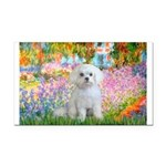 Garden / Maltese Rectangle Car Magnet